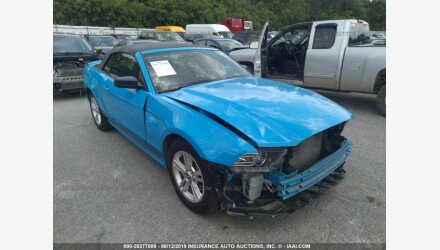 2013 Ford Mustang Convertible for sale 101173490