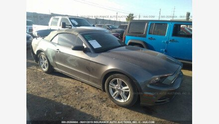 2014 Ford Mustang Convertible for sale 101173556