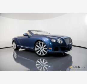 2012 Bentley Continental GT Convertible for sale 101173693