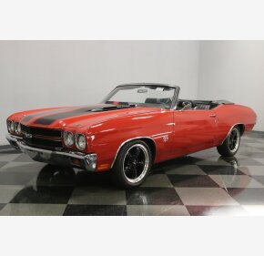 1970 Chevrolet Chevelle SS for sale 101173980