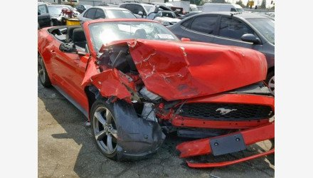 2016 Ford Mustang Convertible for sale 101174699