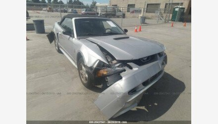 2002 Ford Mustang Convertible for sale 101174871