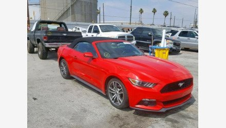 2016 Ford Mustang Convertible for sale 101175389