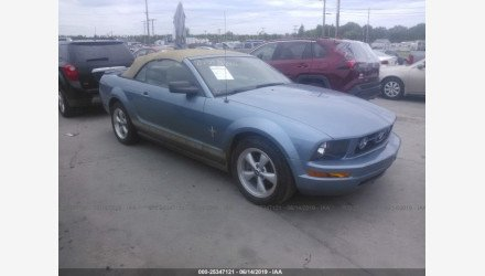 2007 Ford Mustang Convertible for sale 101175614