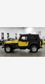 2005 Jeep Wrangler 4WD SE for sale 101175655