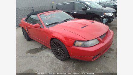 2003 Ford Mustang Cobra Convertible for sale 101176180