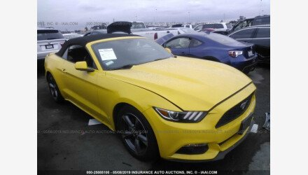 2016 Ford Mustang Convertible for sale 101177373