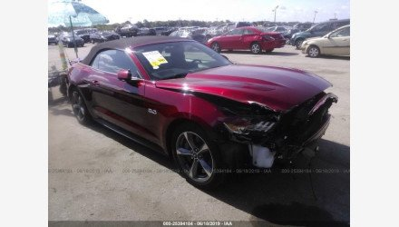 2016 Ford Mustang GT Convertible for sale 101177378