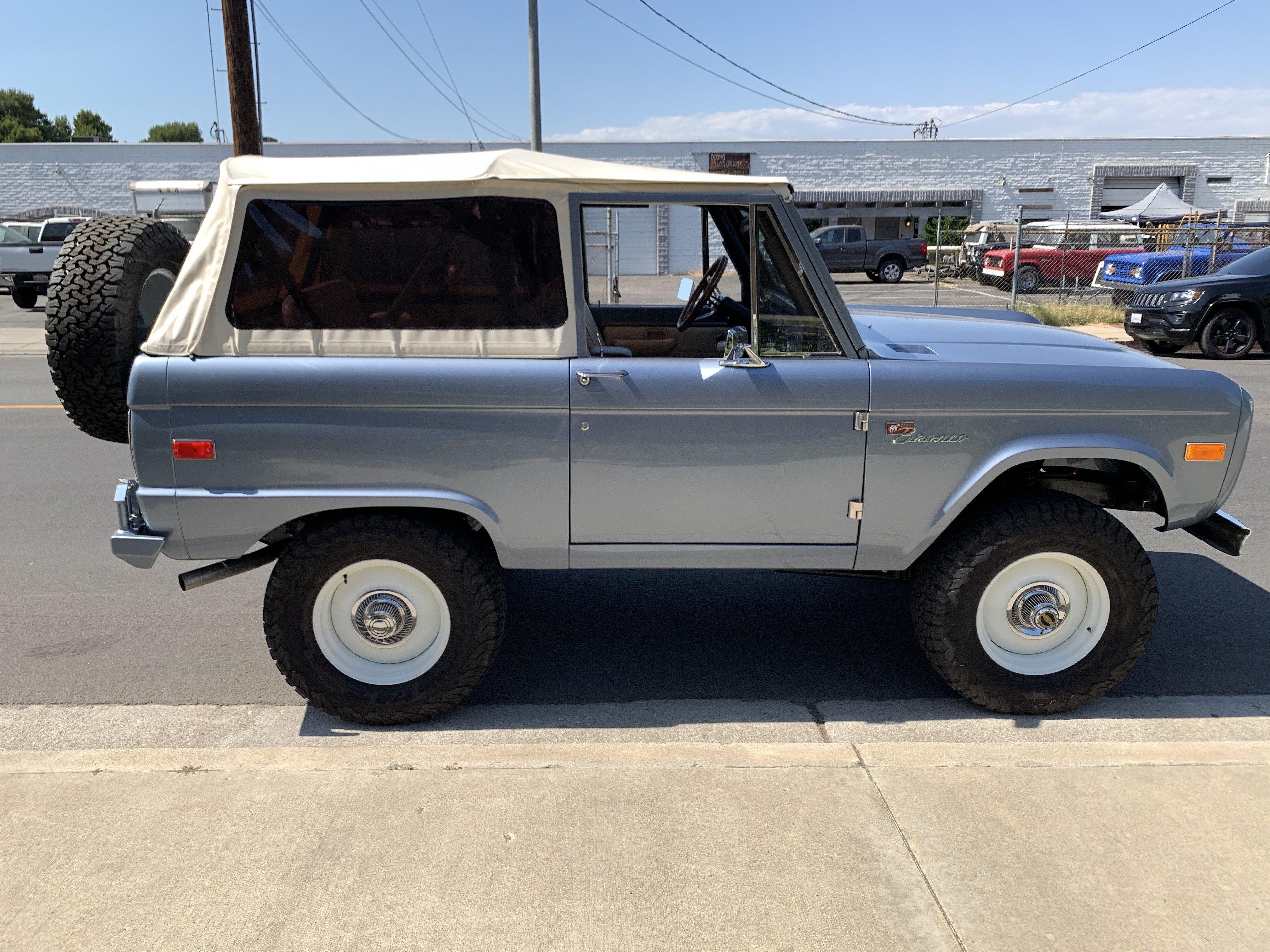 1968 Ford Bronco For Sale Near Chatsworth California 91311 Classics On Autotrader