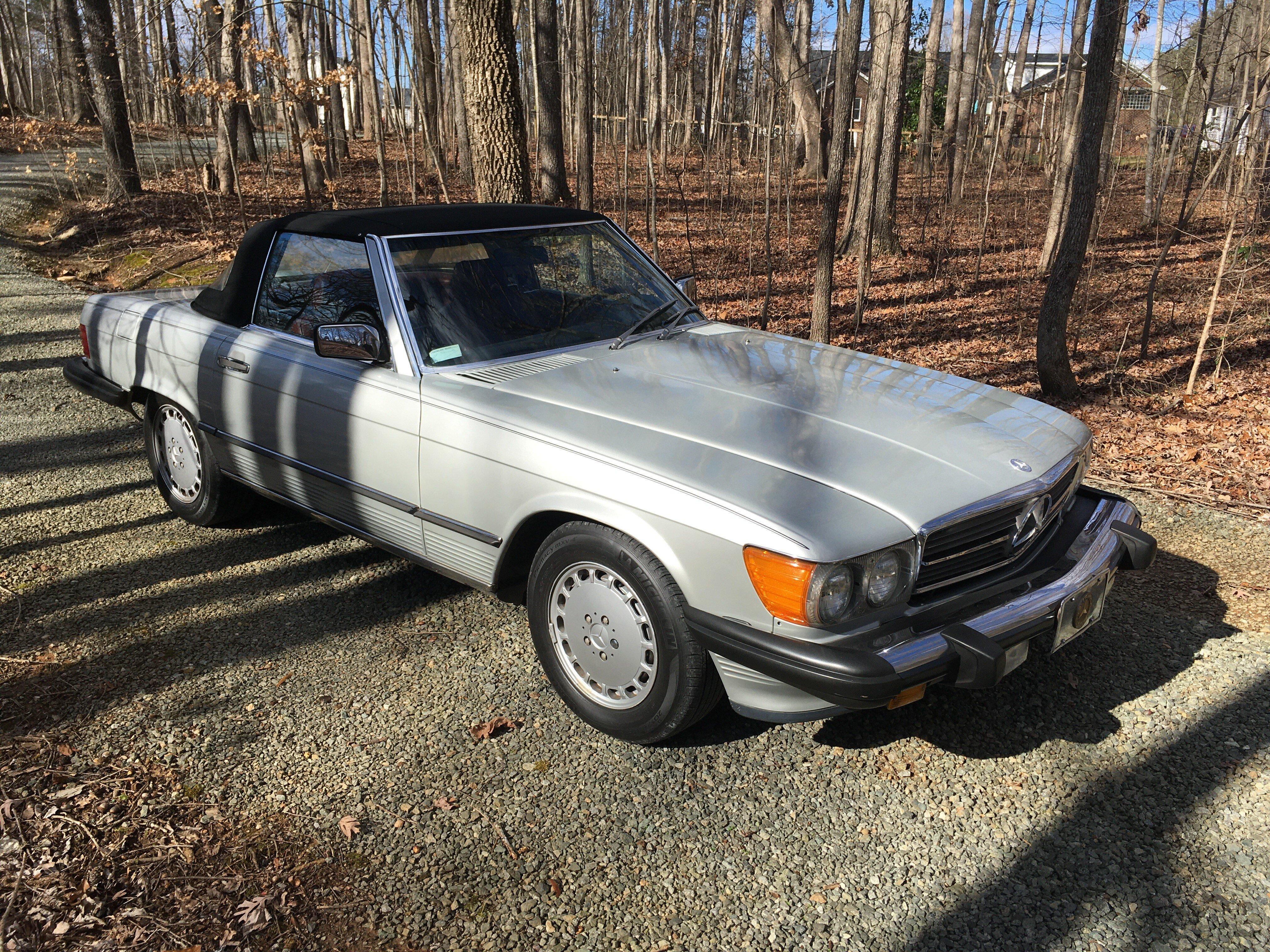 1987 Mercedes Benz 560sl For Sale Near Elon North Carolina 27244 Classics On Autotrader