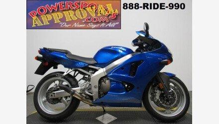 2008 Kawasaki ZZR600 for sale 200525044