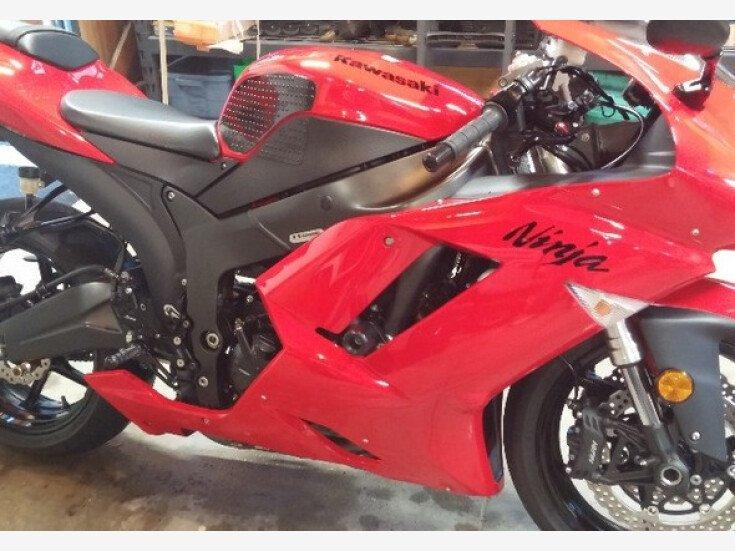 2007 Kawasaki Ninja Zx 6r For Sale Near Woodland Hills California