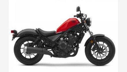 2018 Honda Rebel 500 for sale 200608712