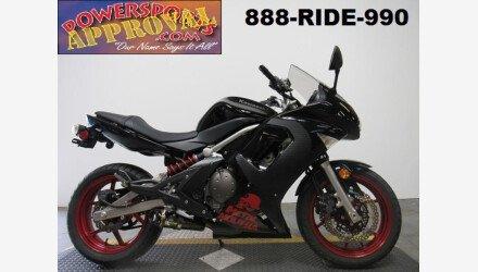 2008 Kawasaki Ninja 650R for sale 200610936
