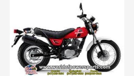 2018 Suzuki VanVan 200 for sale 200637028