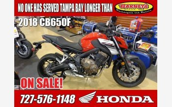 2018 Honda CB650F for sale 200645945