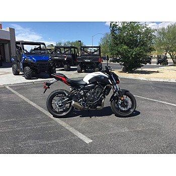 2018 Yamaha MT-07 for sale 200701057