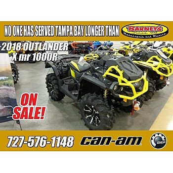 2018 Can-Am Outlander 1000R for sale 200704545