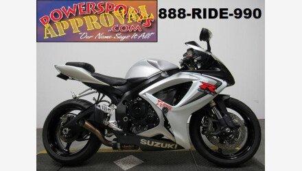 2006 Suzuki GSX-R600 for sale 200710093