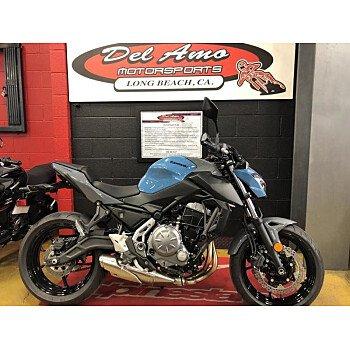2019 Kawasaki Z650 ABS for sale 200714515