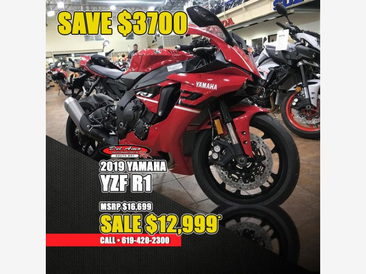 2019 Yamaha Yzf R1 For Sale Near Chula Vista California 91911