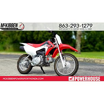 2019 Honda CRF110F for sale 200731073