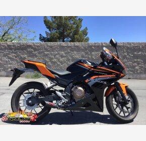 2017 Honda CBR500R for sale 200733258