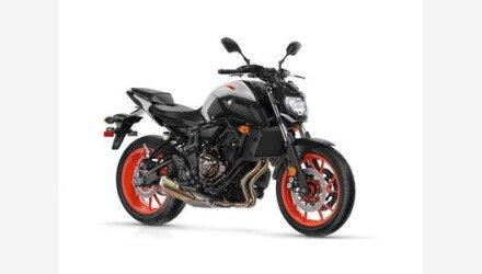 2019 Yamaha MT-07 for sale 200735320