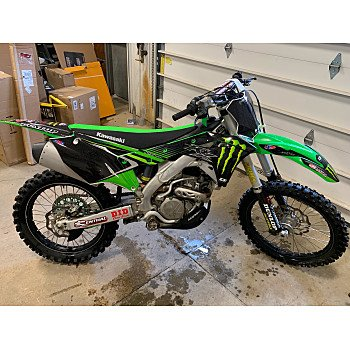 2018 Kawasaki KX250F for sale 200736103