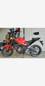 2017 Honda CB500F for sale 200740003