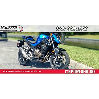 2018 Honda CB500F for sale 200745950