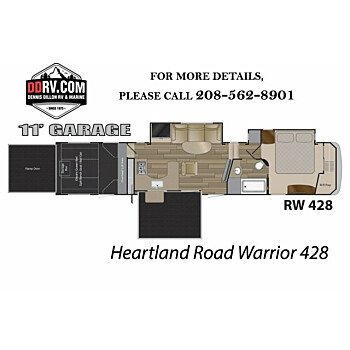 2018 Heartland Road Warrior for sale 300143680