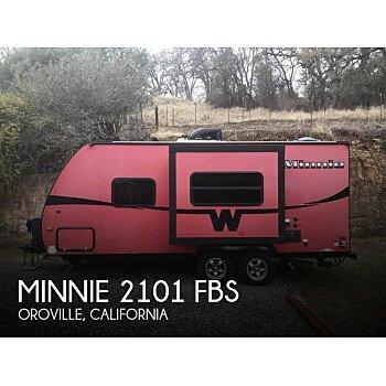 2016 Winnebago Minnie for sale 300181461