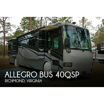 2007 Tiffin Allegro Bus for sale 300182173